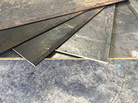 steel sheet and plate